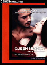 Queen Margot, New DVDs