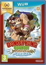 DONKEY KONG COUNTRY TROPICAL FREEZE - Nintendo Selects Wii U - NEW & SEALED