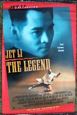 JET LI THE LEGEND 1S ONE SHEET MOVIE POSTER 1990s VIDEO MARTIAL ARTS KICK ASS