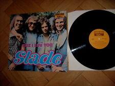 !!! SLADE - COZ I LUV YOU - LP -  SUPER RARE - VINYL !!!