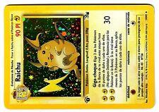 POKEMON ESPAGNOL FOSSIL SPANISH HOLO CARD 1ed N° 14/62 RAICHU