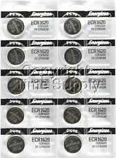 10 pcs 1620 Energizer Watch Batteries CR1620 CR 1620 3V Lithium Battery 0%HG