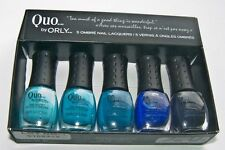 NEW! QUO by ORLY mini 5 blue pack