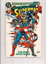 DC COMICS SUPERMAN #79 JULY 1993 REIGN OF SUPERMAN