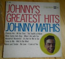 JOHNNY MATHIS Greatest Hits LP COLUMBIA CL 1133 (1957)