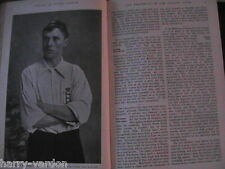 New Zealand All Blacks Rugby Football Fulham FC S Bloomer Cricket Tennis 1905