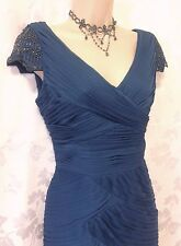 New ADRIANNA PAPELL rrp £190 [8/10/12] Wiggle Beaded Cocktail Party/Wedding/Prom