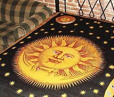 """72"""" x 108"""" Wall Hanging Tapestry - Cotton Bed throw - Celestial - Free Shipping!"""