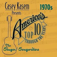 Casey Kasem Presents: America's Top Ten - The 70's Singer/Songwriters LIKE NW CD