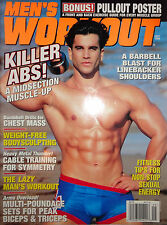 MEN'S WORKOUT MAGAZINE SEPTEMBER 1996 (RARE) SAGI KALEV ON COVER, BODY BEAST