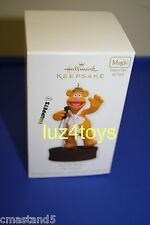 2012 Hallmark Muppets Fozzie Bear Ornament Gold Crown store exclusive New in box