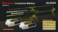 Align Trex 150 2S1P 7.4V 300mAh/30C Li-poly battery HBP03001