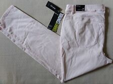 STYLE & CO. WOMENS PLUS LIGHT PINK DENIM PANTS JEANS SKINNY TUMMY CONTROL 16W