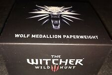 Lootcrate Exclusive Dark Horse The Witcher Wild Hunt Wolf Medallion Paperweight