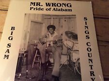 big sam frazier jr.-sings country-mr.Wrong pride of alabam l.P. new