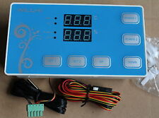 DC12V Double Digital Temperature Thermostat and Humidity Controller Sensor