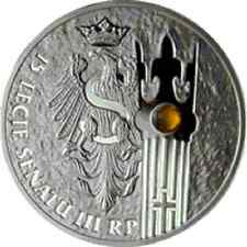 Poland / Polen - 20zl 15 Years of the Senate of the Republic of Poland
