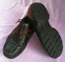 Rockport Men's Black & Brown Leather Casual Shoes Size 7 1/2 Medium