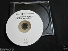 DISNEY IMAGINATION MOVERS MUSIC VIDEO REEL—2009 PROMO DVD