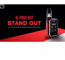 "SMOK G-PRIV "" 220W "" TOUCH SCREEN TFV8  Full kit With Tank 2 18650 Ultra Fire"