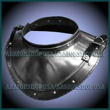 Epic Iron Gorget Set Medieval Gothic Gorget Armor Accessories Larp Sca Costume