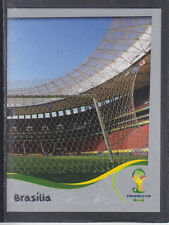 Panini-Brasil 2014 World Cup - # 11 Estadio Nacional-Platinum