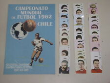 WORLD CUP 1962 CHILE 62  Empty Album + set of stickers 100% Complete!