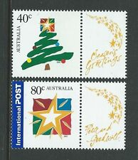 AUSTRALIA 2001 CHRISTMAS FIRST ISSUE UNMOUNTED MINT, MNH