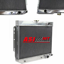3 ROW ALUMINUM RACING RADIATOR FOR 59-63 Chevy Impala, 60-65 Chevy Biscayn SALE