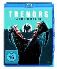 TREMORS 1 - 4 / 4 BLU-RAY - NEU!!
