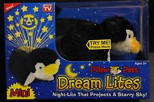 Pillow Pets Mini Dream Lites That Projects A Starry Sky Playful Penguin