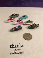 Micro Machines Lot Of 7 Boats Speed Tug V4