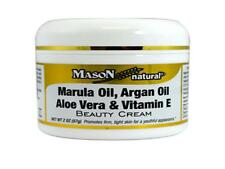 JAR 2 OZ MARULA ARGAN OIL ALOE VERA VITAMIN E BEAUTY CREAM SKIN EYE FACE CARE