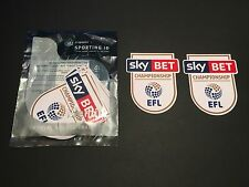 Sky Bet EFL Championship 16/17 Player Size Shirt Sleeve Patches - Sporting iD