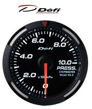 Defi Racer 52mm Car Oil Pressure Gauge - White - JDM Style Stepper Motor