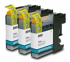 Ink Cartridge for Brother MFC-J5520DW Brother MFC-J4320DW Brother LC203 Y 3