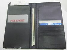 Samsonite Passport Ticket Travel Wallet 44818 Black