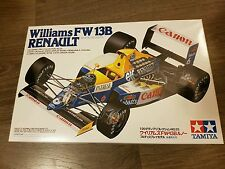 Tamiya 1/20 F1 Williams FW13B Renault Boutsen/Patrese Great Condition Very Rare