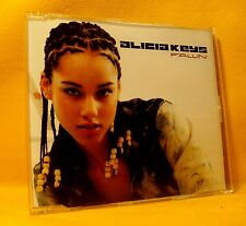 MAXI Single CD Alicia Keys Fallin' 5TR + Video 2001 Enhanced Soul RnB Ballad