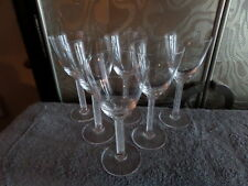 "6 Lalique Phalsbourg 6 1/2"" Claret Wine Glasses - 5 oz or Individually $79 each!"