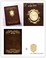 Clock Gold-plated Stainless Clip Bookmark - Perfect gift