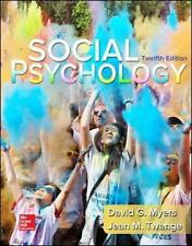 Social Psychology by David G. Myers and Jean M. Twenge (2015, eTextBook)