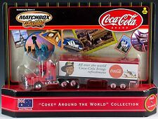 Matchbox Coca-Cola Scania Cab Coke Around The World Australia New In Box