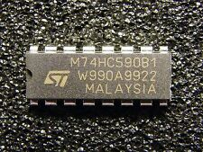 10x M74HC590B1 8-bit Binary Counters With 3-state Output, ST Microelectronics
