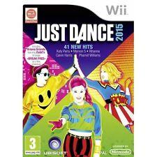 Just Dance 2015 Wii Game Nintendo Wii PAL Brand New with factory sealed
