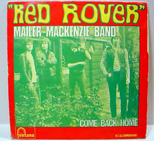 "MAILER MACKENZIE BAND - Red Rover (Fontana) - '72 France press - 7""/45rpm w/PS"