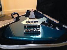 Fender American Standard Jazz Bass Made In USA – Beautiful Ocean Turquoise Rare