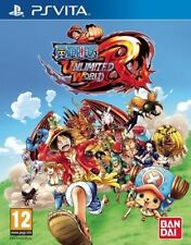 ONE PIECE UNLIMITED WORLD RED EDICIÓN SOMBRERO DE PAJA CASTELLANO PS VITA
