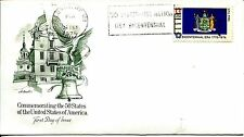 1976 STATE FLAGS NEW YORK ARTMASTER CACHET UNADDRESSED FDC