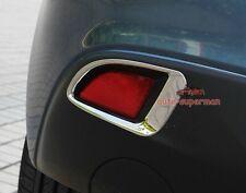 S.Steel rear Fog Light lamp cover trim Chrome Mazda3 hatchback 2014 2015 2016